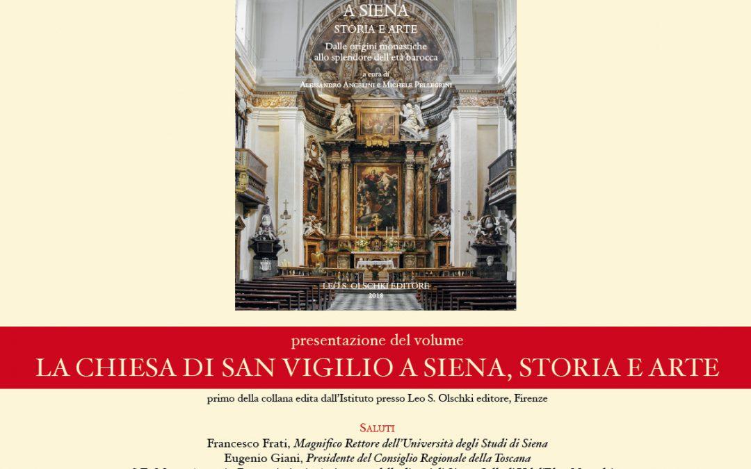 La chiesa di San Vigilio a Siena