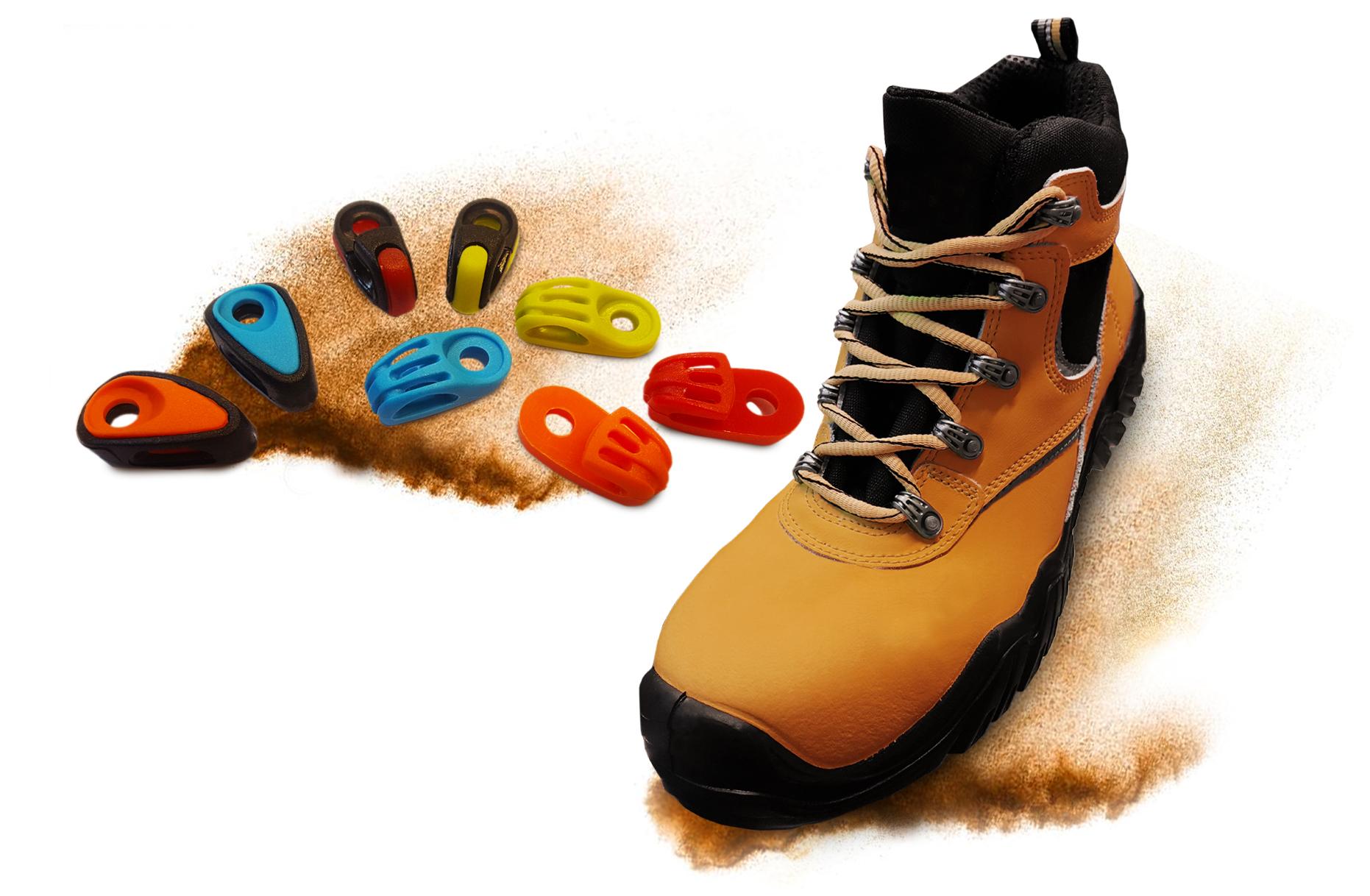 ganci passalacci occhielli metal free per scarpe antinfortunistiche metal free eyelets eyelets hooks for safety shoes